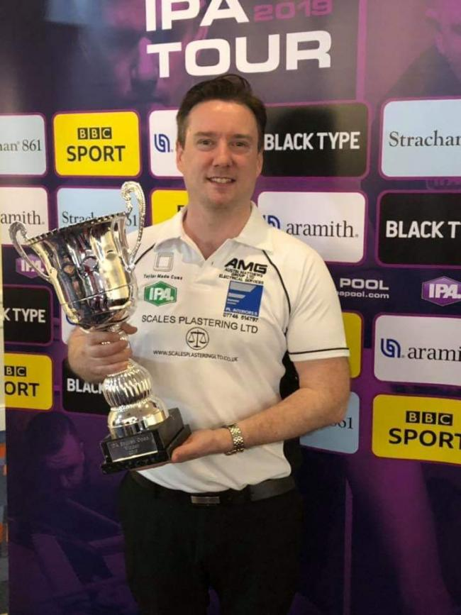 Big win - Jimmy Carney is celebrating pocketing the IPA English Open Championships in Bradford