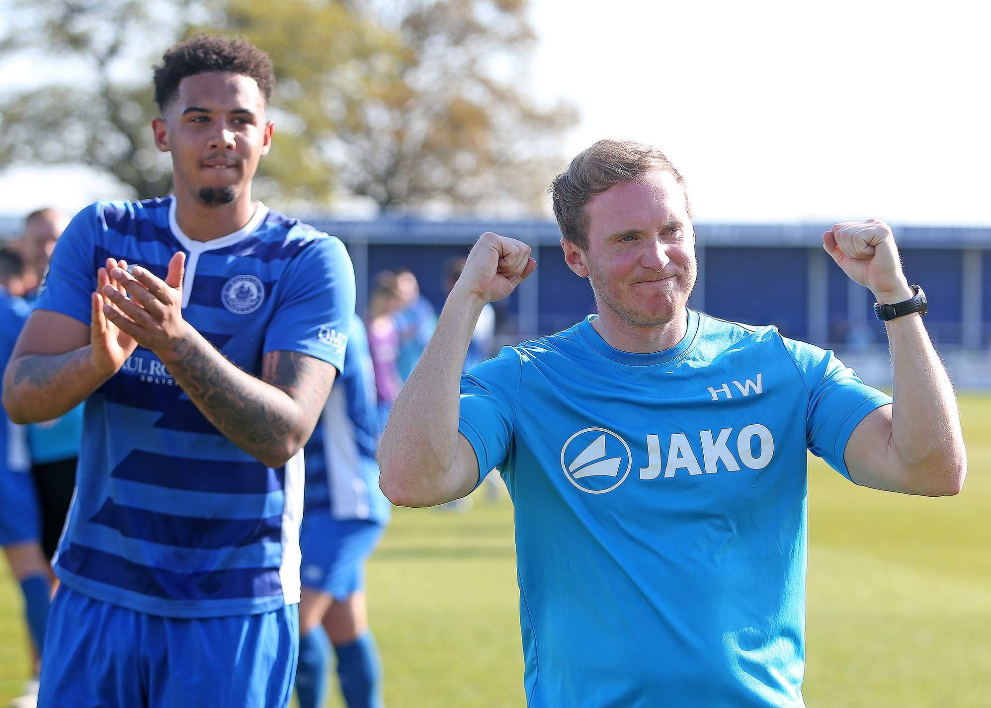 Wanting to get the job done - Harry Wheeler's Billericay Town are eager to bag a play-off place Picture: NICKY HAYES/iCORE LTD
