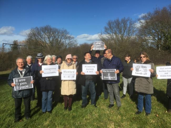 Wickford Save Our Space campaign