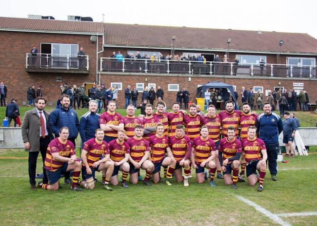 Playing for promotion - Westcliff Rugby Club