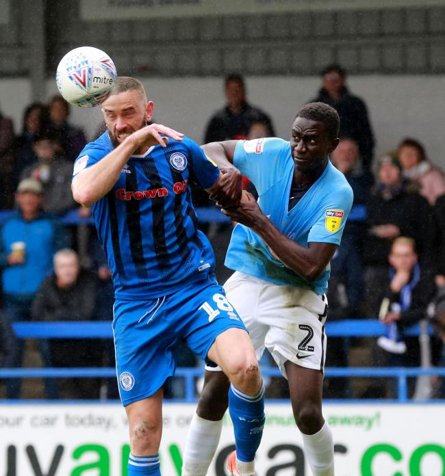 Set to bring up his half century - Southend United defender Elvis Bwomono