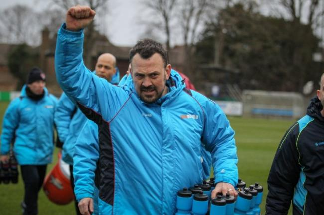 Making changes - Danny Scopes has allowed three players to leave Concord Rangers ahead of possible arrivals Picture: PAUL RAFFETY