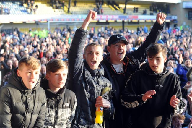 Backing the team - Southend United's fans at Roots Hall