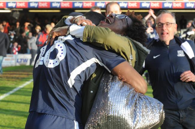 Relieved - Southend United midfielder Dru Yearwood