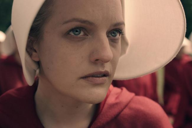 The Handmaid's Tale was recently made in to a TV series, starring Elisabeth Moss (Channel 4)