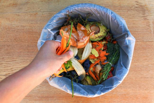 A Generic Photo of a bin filled with food waste. Picture: PA Photo/iStock.