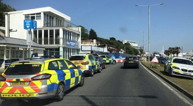 Armed police called to Southend