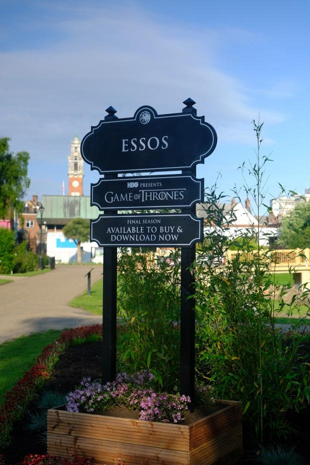 Echo: The sign outside Colchester Castle