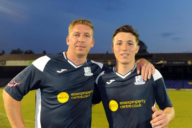 Seeing double - Freddy Eastwood with his son Freddy
