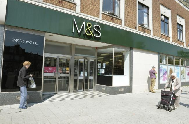 Marks and Spencer in Clacton closed last year