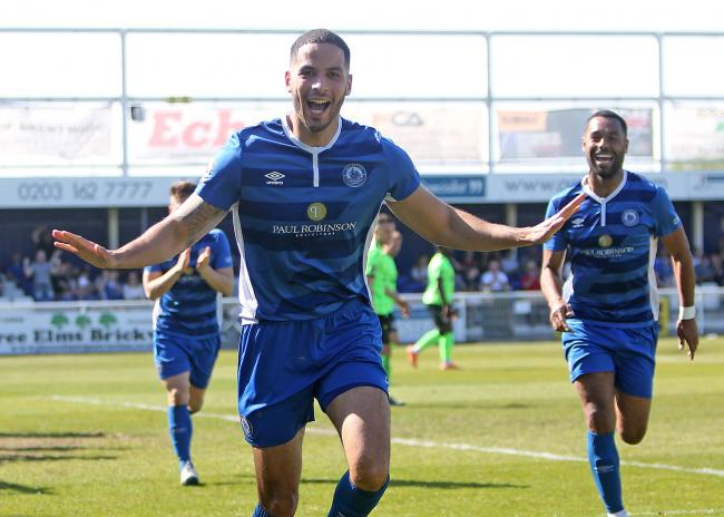 End of an era - Joe Kizzi has left Billericay Town in favour of a move to National League side Bromley   Picture: NICKY HAYES/iCORE LTD