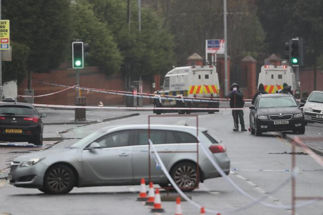 Shooting in West Belfast