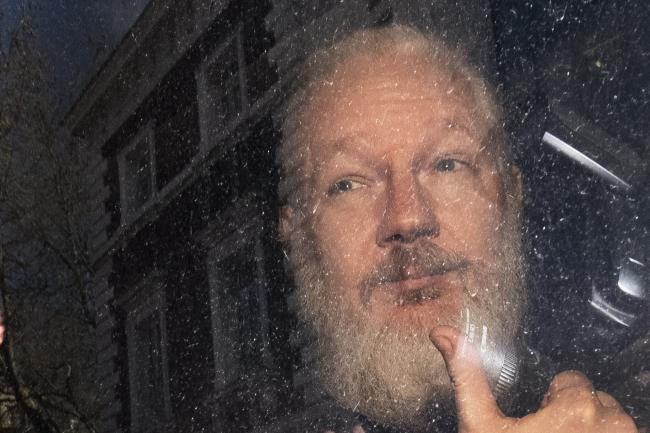 Julian Assange is currently jailed in Britain over a bail breach but US authorities are seeking his extradition