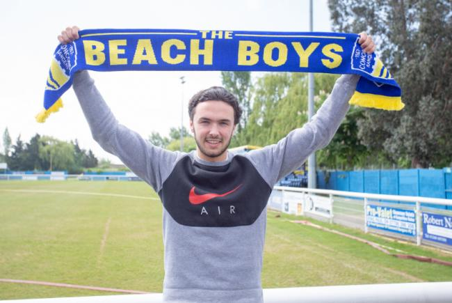 Relishing the challenge - Chris Millar has joined Concord Rangers from Heybridge Swifts			    Picture: PAUL RAFFETY