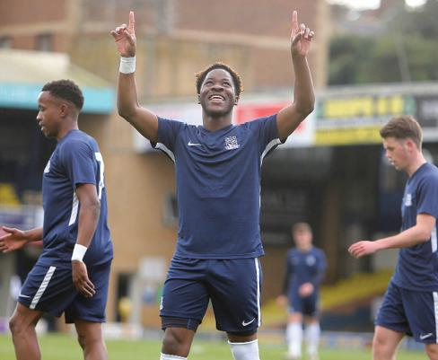Moving on - Norman Wabo has not been offered a new deal by Southend United