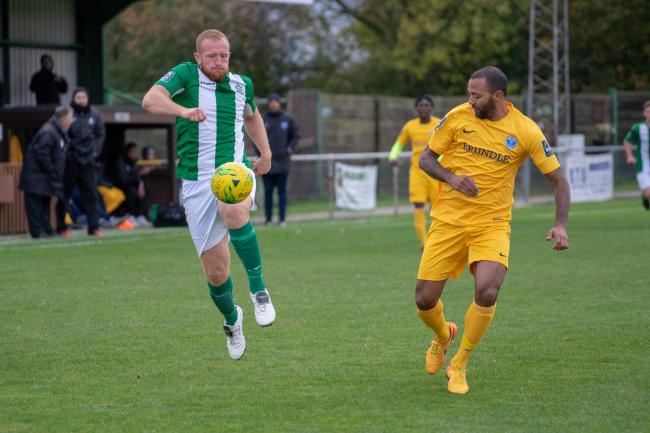 Joined Basildon United - Adam Vyse Picture: AL UNDERWOOD
