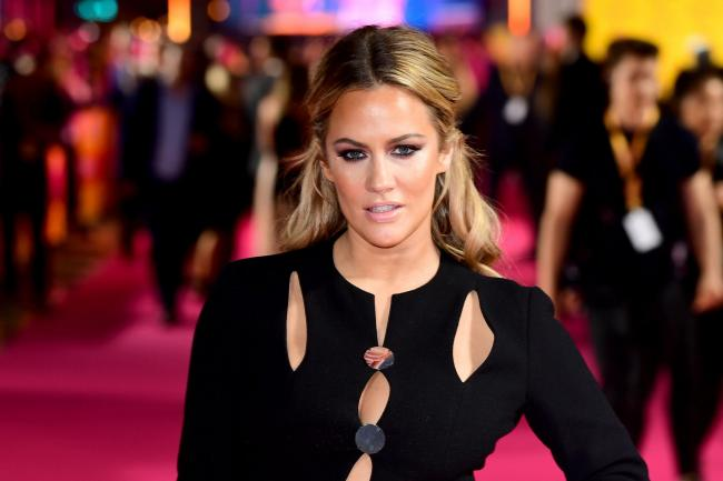 Caroline Flack on the red carpet