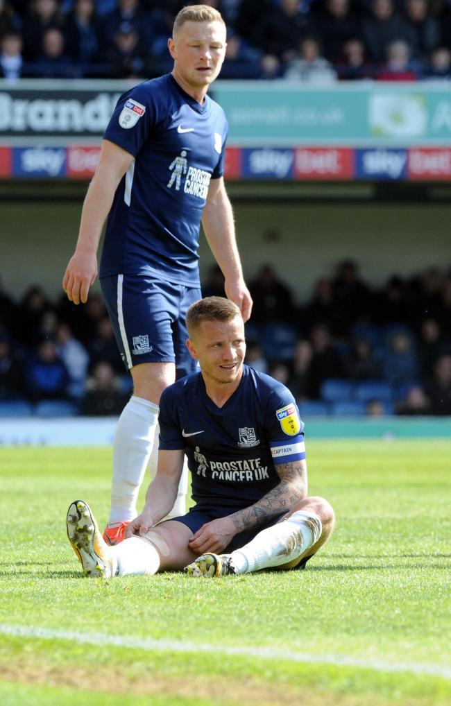 Injured - Southend United defender Jason Demetriou