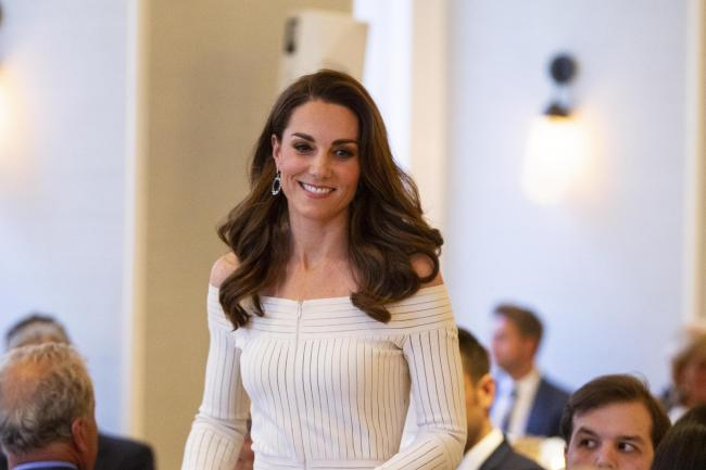 The Duchess of Cambridge during the first annual gala dinner in recognition of Addiction Awareness Week