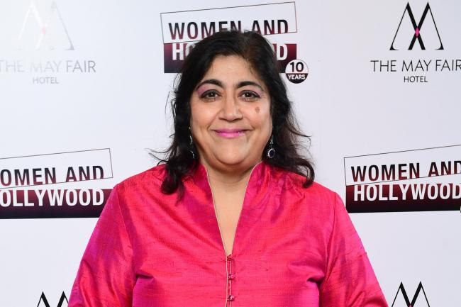 Gurinder Chadha, who said she often played music to keep the Beecham House cast and crew upbeat