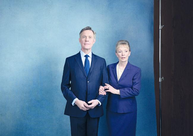 Alex Jennings and Lindsay Duncan. Picture: Jay Brooks