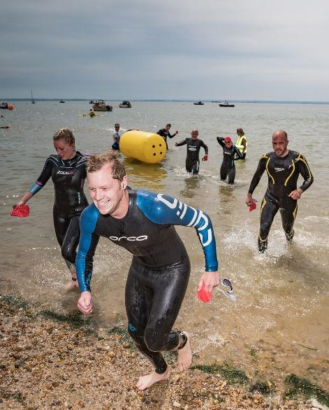 Ready to be put to the test - an impressive 400 competitors will be involved in the Southend Triathlon this weekend