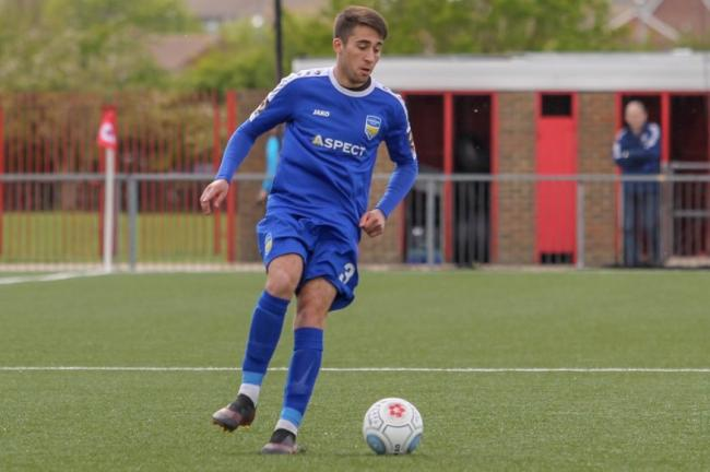 Departed - Jed Smith has left Concord Rangers after claiming a scholarship in the United States of America Picture: PAUL RAFFETY